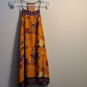 Urban Outfitters Ecote Orange and Purple Dress